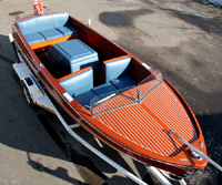 1949 18' Chris Craft Sportsman Classic Wooden Boat