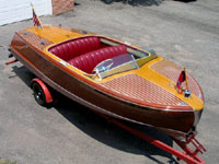 1950 18 ft Chris Craft Riviera