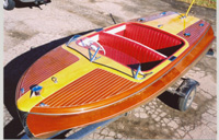 1951 18' Vintage Chris Craft Riviera Runabout