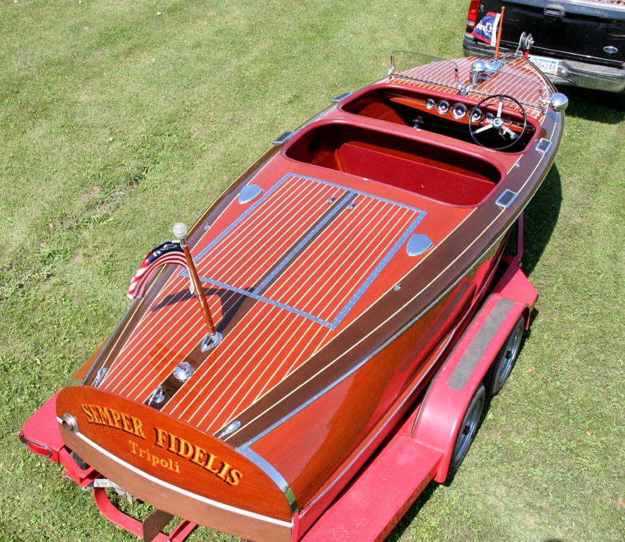 1940 19' Chris Craft Barrel Back Custom Runabout for sale