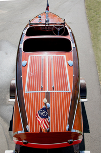 1939 19' Chris Craft Custom Runabout Barrel Back - ClassicBoat.com