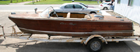 1956 19' Chris Craft Capri Project Boat