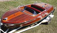 1956 19 foot Chris Craft Capri