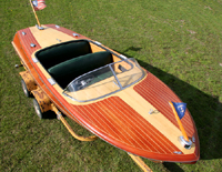 1956 19' Chris Craft Capri Runabout