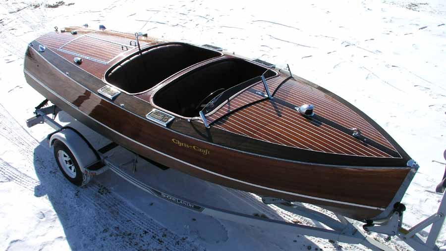 Chris Craft 19 foot Custom Runabout 1938