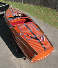 1935 19' Chris Craft Custom Runabout