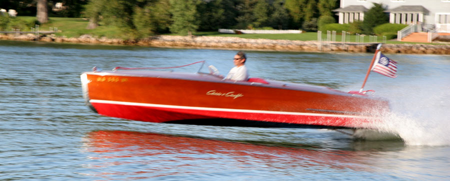 19' Chris Craft Racing Runabout