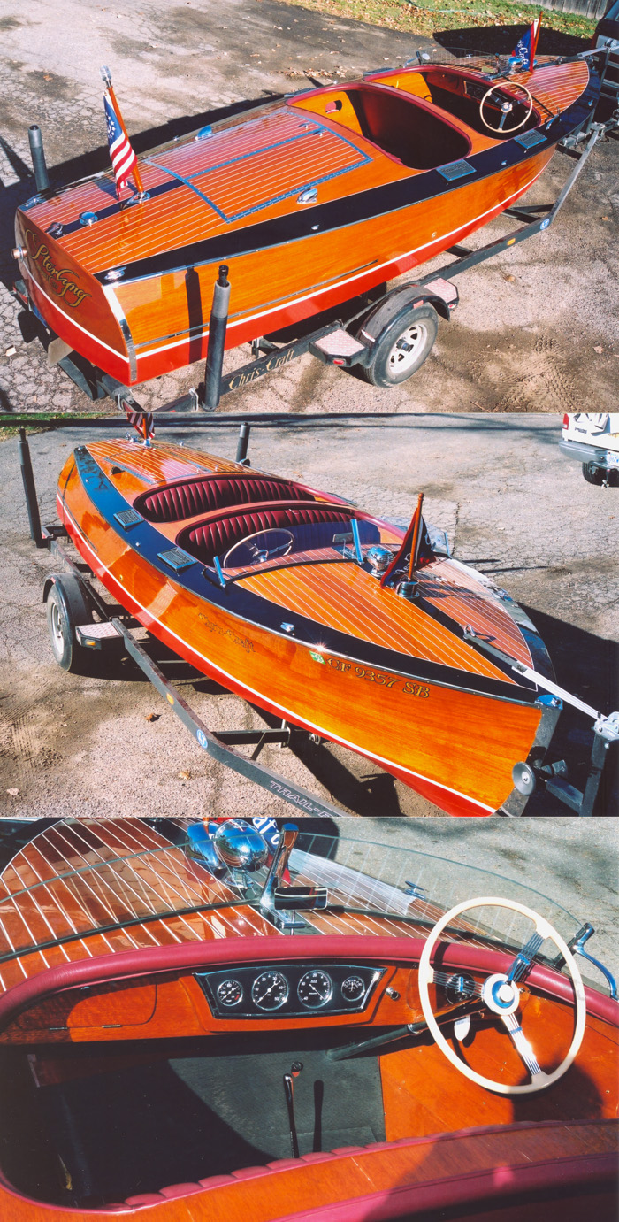 Wooden Boats - 1937 19' chris craft custom