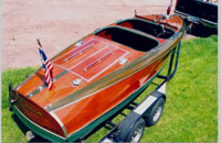 1939 Chris Craft 19 ft Custom Runabout Barrel Back