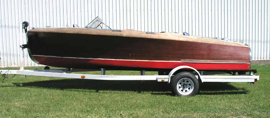 Project Chris Craft Barrel Back
