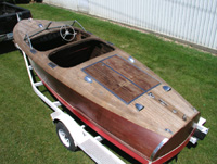 1942 19 ft Chris Craft Barrel Back