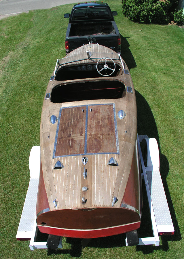 Chris-Craft Custom Runabout