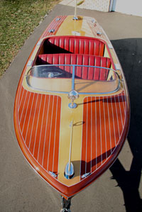 1957 19 ft Chris Craft Capri Runabout