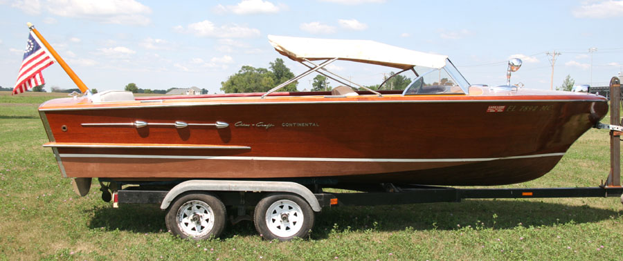 20 ft Chris Craft Continental