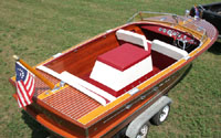 1957 20 ft Chris Craft Continental