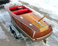 1950's 20' Chris Craft Custom Runabout