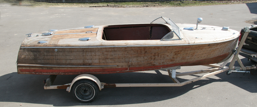 1946 20' Chris Craft Custom Runabout