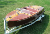 1950 20 ft Chris Craft Riviera Wooden Boat