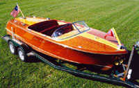 1955 Chris Craft 21' Capri - Classic Boat