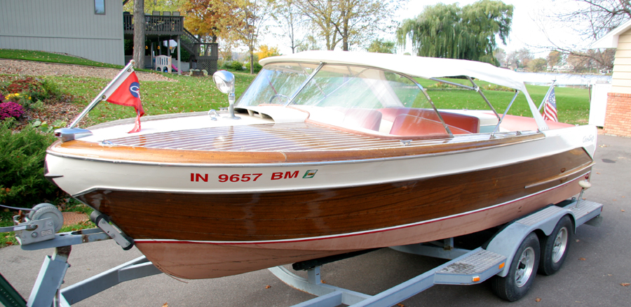 Chris Craft Boats >> 1958 21 ft Chris-Craft Continental