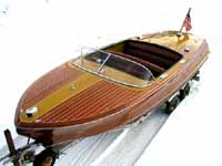 1956 21 ft Chris Craft Capri