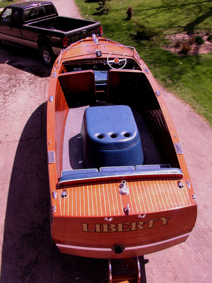 Boat Trailer Brakes >> 1949 22 ft Chris Craft Sportsman