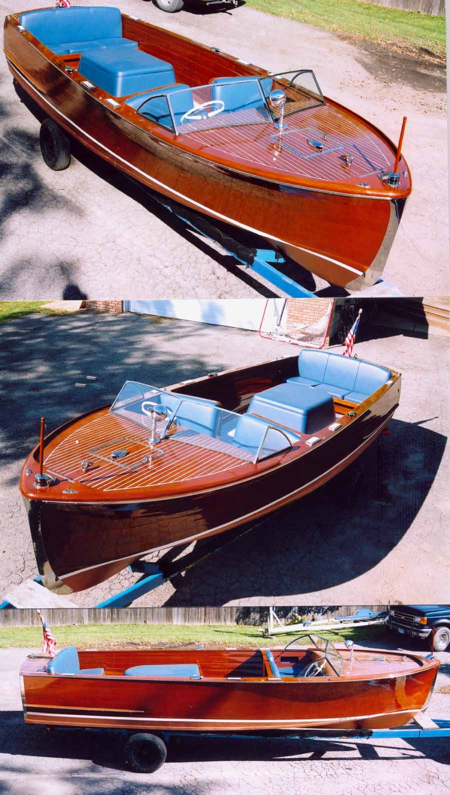 classic boats - 1950 22' Chris Craft Sportsman