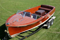 1954 22 ft Chris Craft Sportsman