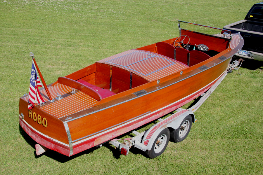 Chris Craft Mahogany