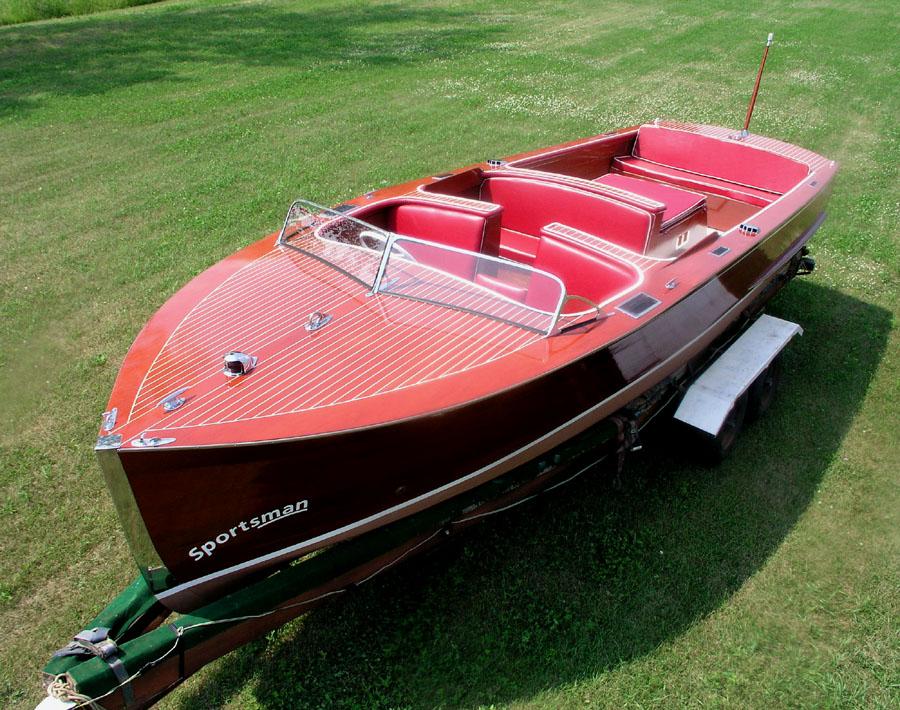 1940 25 ft Chris Craft Sportsman Utility for sale