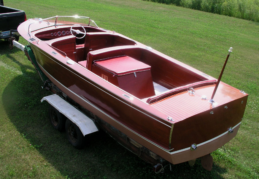 1940 25 39 chris craft sportsman wooden boat for Chris craft boat restoration
