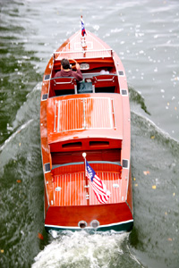 1930 26 ft Chris Craft Triple Cockpit classic wooden boat