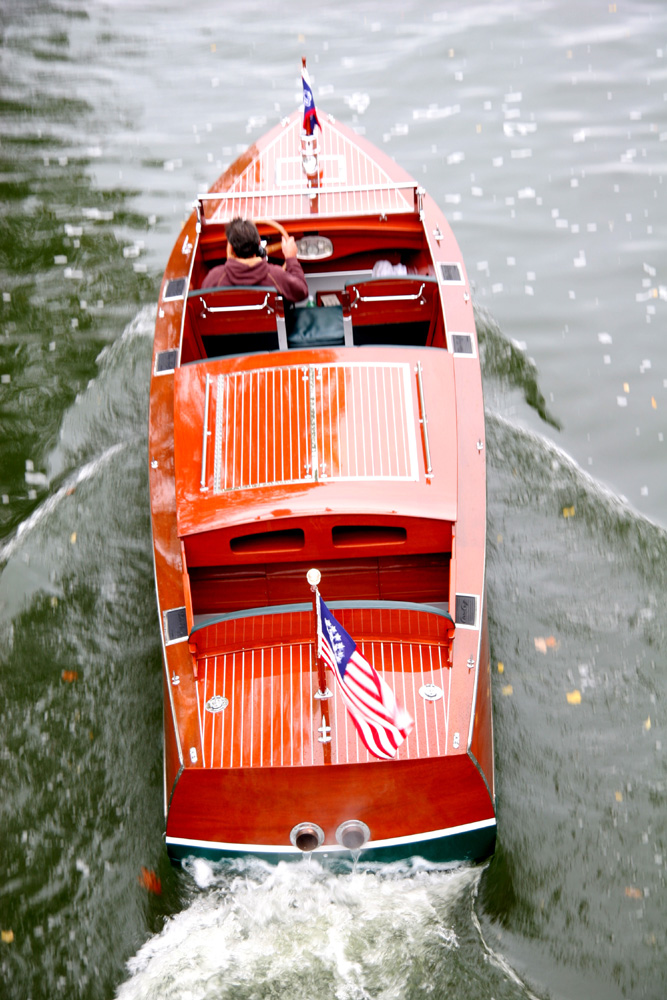 Chris Craft 26' Triple Cockpit Runabout