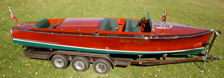 Antique Boat - GarWood Baby Gar