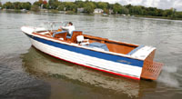 1967 Classic Chris Craft 28 ft Sea Skiff