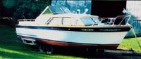 1962 28' Chris Craft Constellation Cabin Cruiser