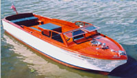 1955 29' Chris Craft Twin Engine Sportsman Utility