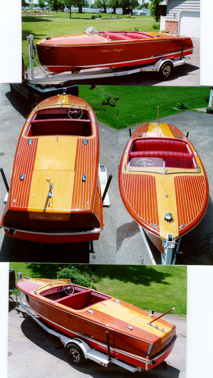 Chris Craft 20' Riviera - Classic Wood Boat