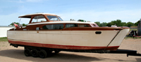 1953 35' Chris Craft Commander Cabin Cruiser
