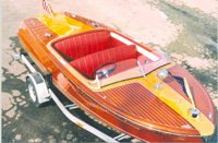 1952 18' Chris Craft Riviera classic wooden runabout