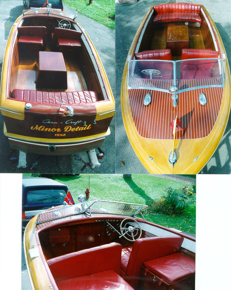 wooden boats - 23' chris craft holiday