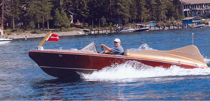 Foot Chris Craft Boat Trailer
