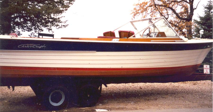 Antique Boats - 1966 25' Chris Craft Sea Skiff
