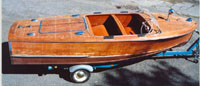 Chris Craft 1947 17' Deluxe Runabout