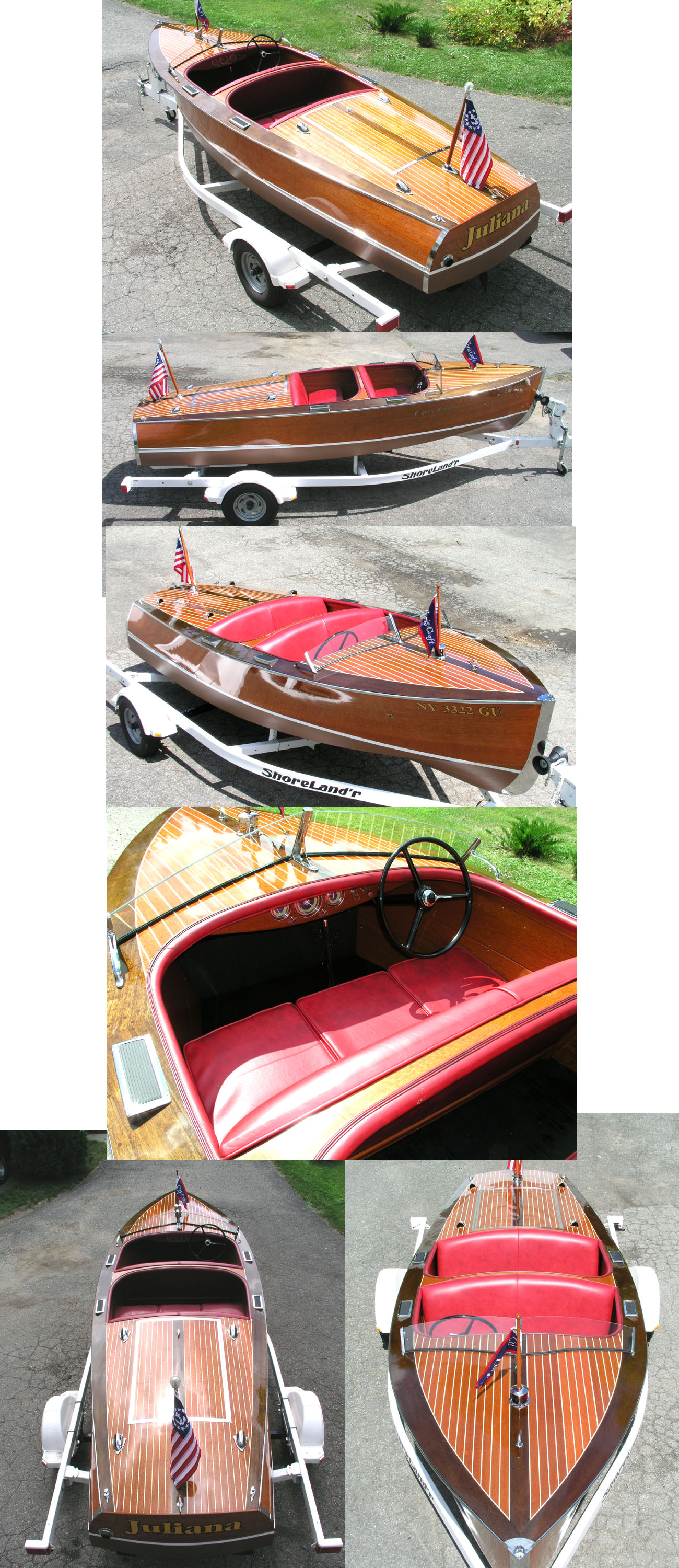 1942 17' Chris Craft Deluxe Runabout