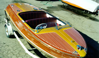 Chris Craft 1952 18' Riviera Wood Runabout