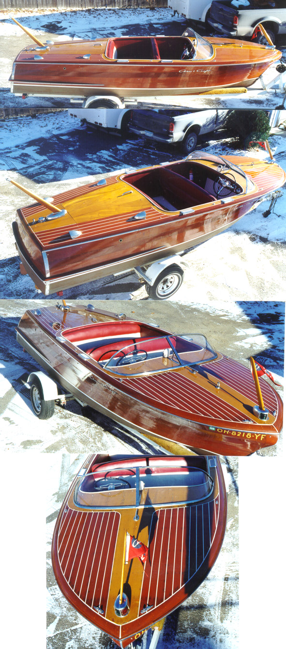 19' Chris Craft Capri - Classic Wood Boat