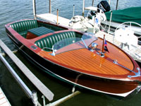 1946 19' Gar Wood Utility in restored condition ClassicBoat.com