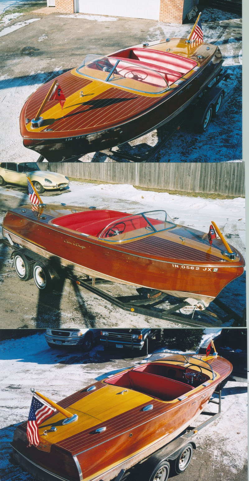 Chris Craft 21' Capri - Wooden Boat