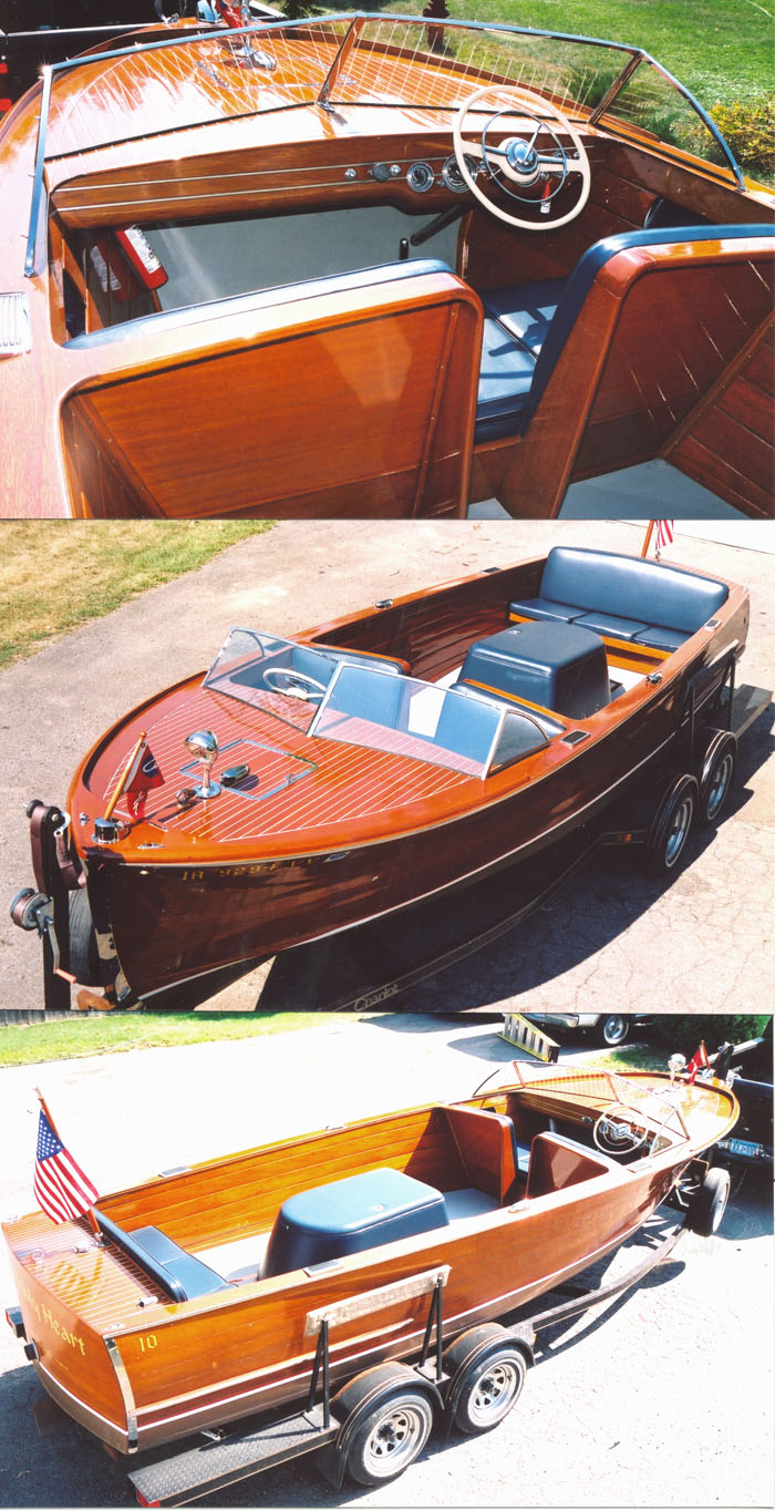 1953 22 ft Sportsman for sale